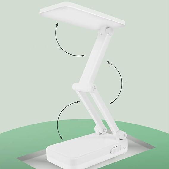 Led Lámpara De Mesa Solar Usb Carga Plegable Dimmer Lámpara De ...