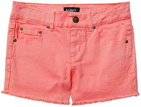 Girls Shorts Summer Cotton Washed product image