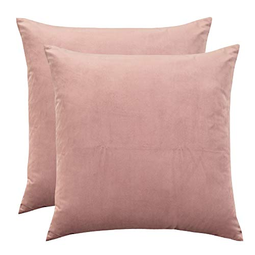 Rythome Set of 2 Comfortable Throw Pillow Cover for Bedding,