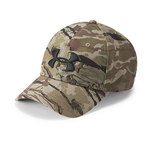 Under Armour Men's Camo Cap 2.0, Ua Barren Camo (999)/Black, One Size