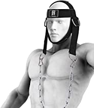 RIMSports Neck Harness for Weight Training, Ideal Neck Exercise Equipment for Neck Workout, Resistance Trainin