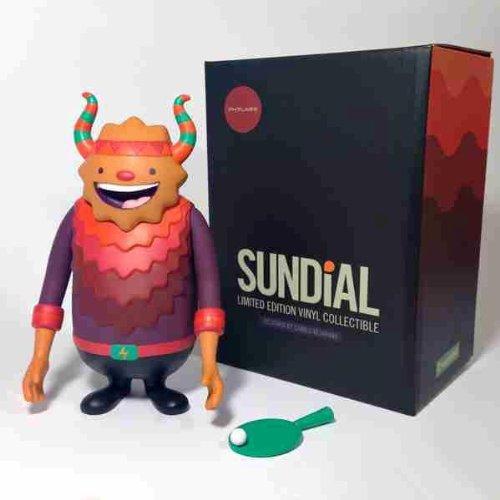 Designer Vinyl Toy Figure (Sundial Designer Vinyl Figure Camilo Bejarano Crazylabel)