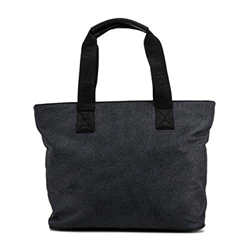 Black Laura Women Biagiotti Genuine Shopping Bag Designer IppBCwq