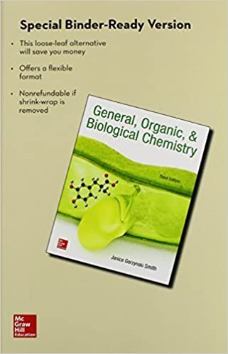 Loose Leaf for General Organic & Biological Chemistry by Janice Smith (2015-01-21)