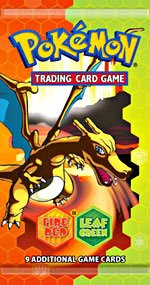Pokemon EX Fire Red & Leaf Green Trading - Leaf Green Booster Shopping Results