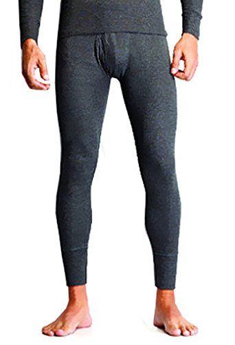 Alfa Oswal Mens Thermal Lower - Assorted Color 1 Pair Socks Free (X-Large)