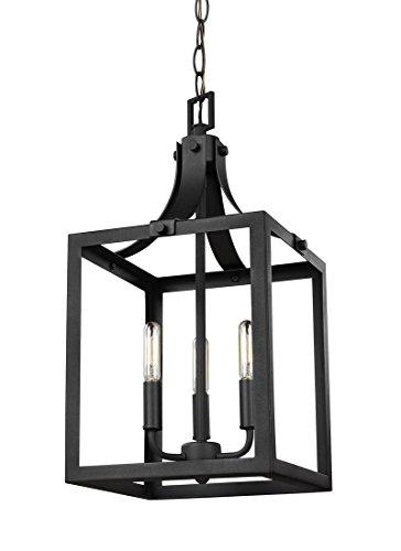 3 Light Foyer Lantern - 8
