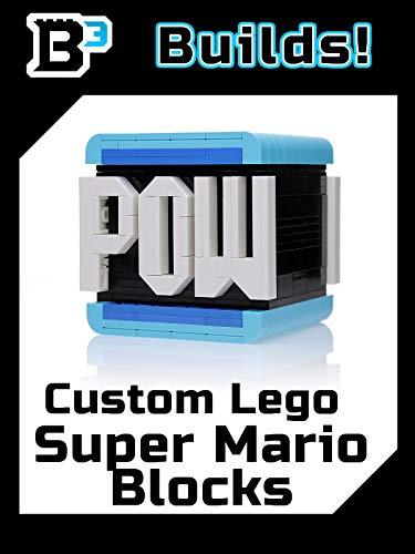 B3 Builds! Custom LEGO Super Mario Blocks
