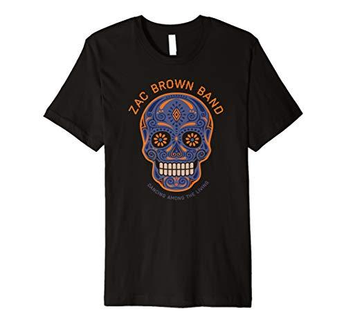 ar Skull Halloween Day of the Dead Shirt ()