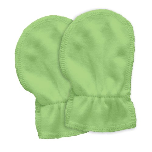 green sprouts 2 Pack Organic Cotton Mitts, 0-6 Weeks