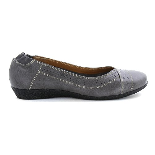 Taos Womens Sleek Ballet Flat Grey Et6e6v