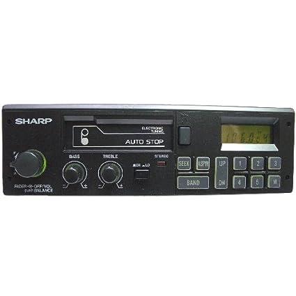 Radio-Casete Estéreo para coche SHARP RG-F850E(BK) - Sintonizador PLL