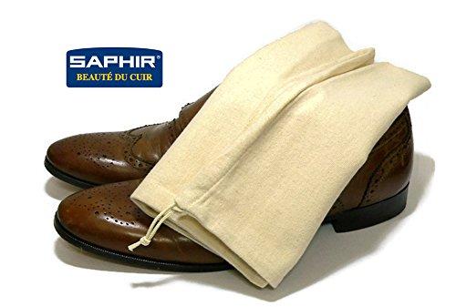Saphir Shoe Storage Bag - Cotton - Shoe Protection on Dust, Light & Moisture by Saphir France (Image #3)