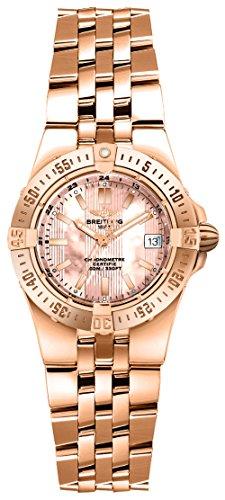 Breitling Starliner Solid 18k Rose Gold Women's Watch H7134012/K516-360H