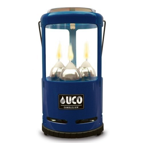 UCO Candlelier Deluxe Candle Lantern, Blue
