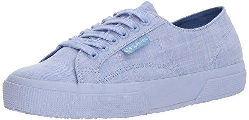 Superga Women 2750 Cottonmelangeu Sneaker Blue