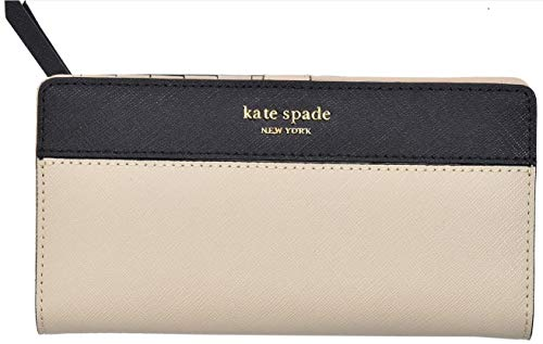 - Kate Spade New York Wellesley Printed Stacy (Warm Beige/Black)