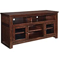 Ashley Furniture Signature Design - Harpan TV Stand - 60 in - Traditional Style - Brown