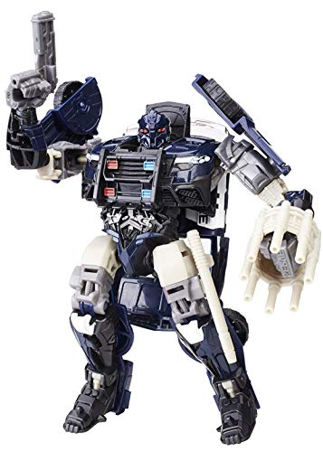 Asher Transformation The Last Knight Police car Barricade Figure Toys
