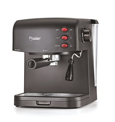 Prestige PECMD 2.0 850-Watt Espresso Coffee Maker (Black)