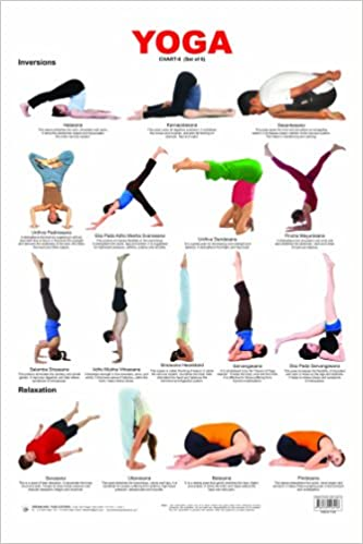 Buy Yoga Chart 6 Book Online At Low Prices In India