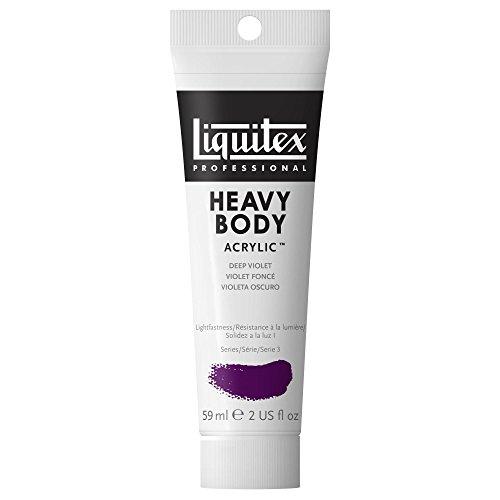 Liquitex Professional Heavy Body Acrylic Paint 2-oz tube, Deep (Acrylic Deep Violet)