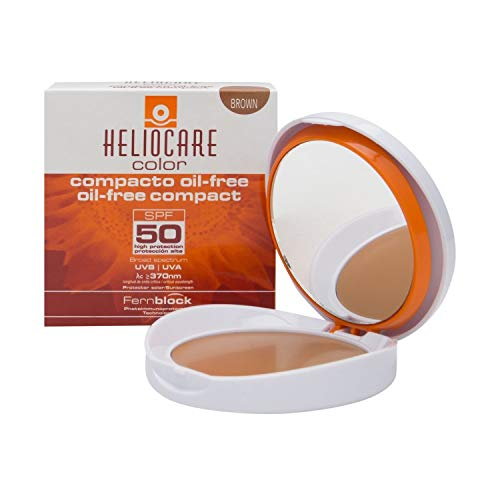 Heliocare Color Compact SPF50+ Oil-Free Brown 10g -