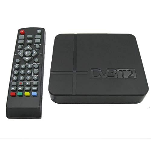 TV stick receiver Sunzimeng Mini Terrestrial Receiver HD DVB-T2 Set Top Box, Support USB/HDMI / MPEG4 /H.264(Black)