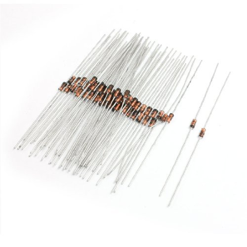 DealMux 1N60P Germanium Detector Diode FM AM TV Radio Detection 60 Pcs DLM-B00B2YRL8C