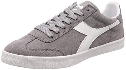 Diadora Sneakers Pitch Grigio-Bianco 173991-75072 (38 - Grigio)