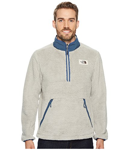 The North Face Men's Campshire Fleece Pullover, Granite Bluff Tan, Small
