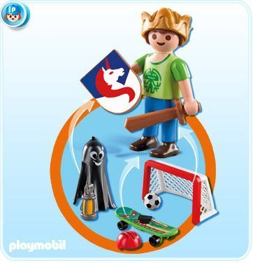 Playmobil Multi Play Boys Set #6252 (Halloween Set Playmobil)