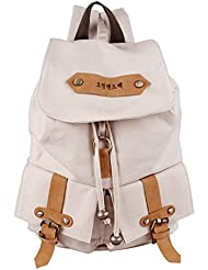 Korea Vintage Canvas Backpack Girl Women Shoulder School Satchel Bag Rucksack