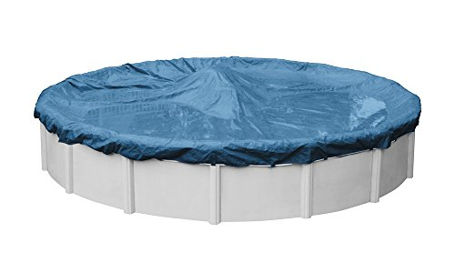Robelle 3524-4 Super Winter Pool Cover for Round Above Ground Swimming Pools, 24-ft. Round Pool