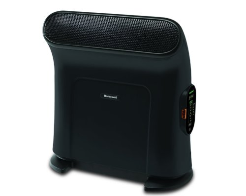 Honeywell HZ-860 Black Ceramic Energy Smart Therma Wave Heater 1500W Ceramic Heaters