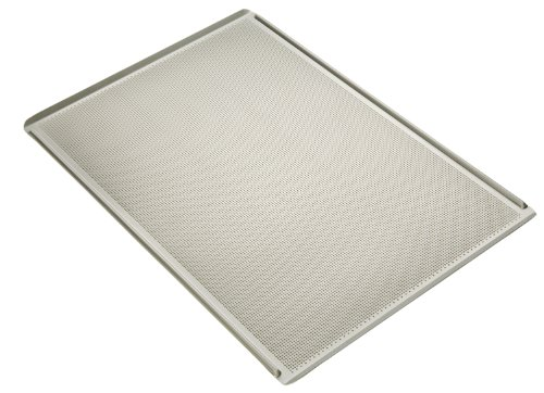 Focus Foodservice Commercial Bakeware 14-Gauge 18 by 26-Inch Glazed Perforated Aluminum Screen