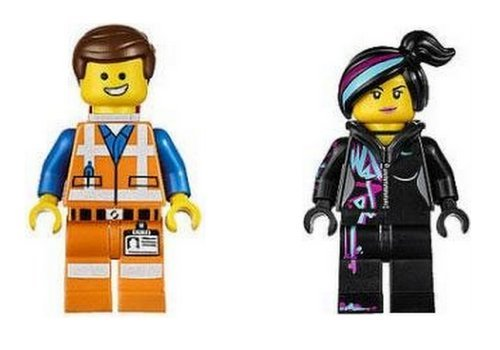 Lego Movie Emmet & Wyldstyle Minifigures Set