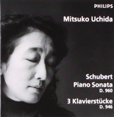 Price comparison product image Schubert: Piano Sonata, D.960 / 3 Klavierstücke, D.946 ~ Uchida