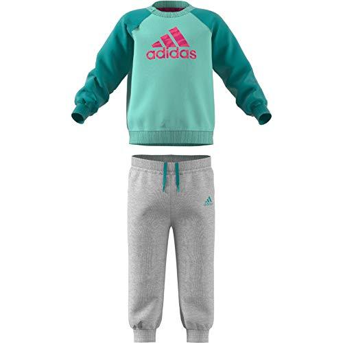 real real res Mint Pour Avec Adidas Bébé Polaire Clear Magenta hi Aqua  Unisexe Logo Survêtement ... 9f6b8321648