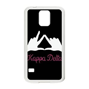 Kappa Delta Sign Samsung Galaxy S5 Cell Phone Case White Delicate gift JIS_308311