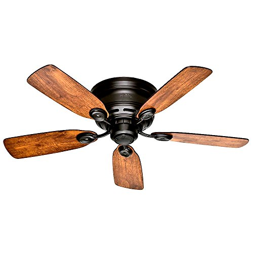 42 Inch Ceiling Fan Bronze Low Profile III Ultra-Powerful Air Movement Quiet Performance - Skroutz