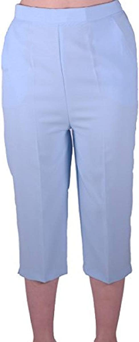 WOMENS NEW DENIM BLUE CLASSIC COMFORT LADIES CASUAL TROUSERS SIZE 10-14