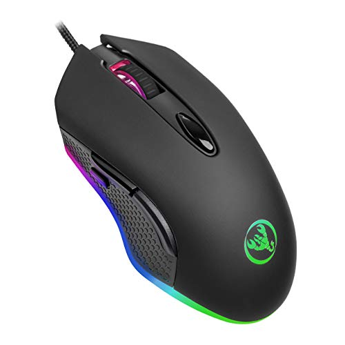 ANEWISH RGB Wired Gaming Mouse,6 Programmable...