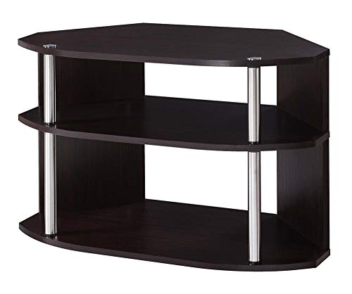 Convenience Concepts Designs2Go Swivel TV Stand, Espresso