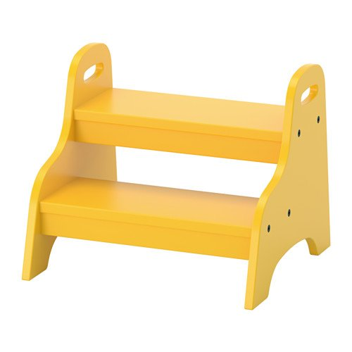 IKEA TROGEN 803.715.20 Wooden (MDF) Children's Toilet Training Step Stool...