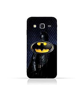 Samsung Galaxy Grand 2 TPU Silicone Protective Case with Batman Design