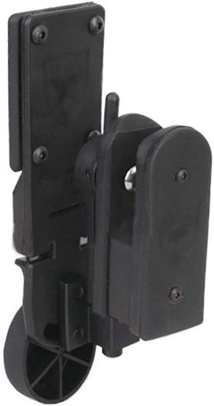 XBF-Clips, Airsoft IPSC Competition Speed ​​Draw Funda Universal for Pistola de Pistola Izquierda y Derecha (Color : Negro)