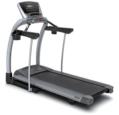 Vision Fitness Tf20 Elegant Folding Treadmill by Vision Fitness