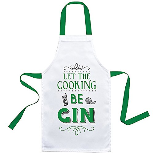 Joe Davies Best Cook Apron let the Cooking be Gin