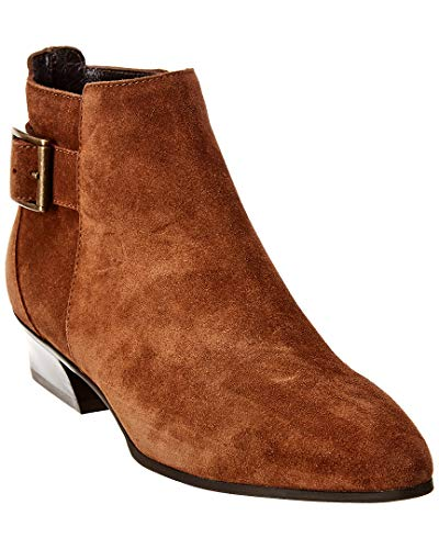 Aquatalia womens FERNN SUEDE Ankle Boot,Chestnut,6.5 M